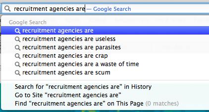 Recruitment. It's an easy target.
